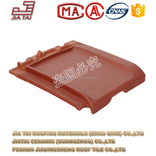 FT-5R12 fashion clay matt finish wind-proof roofing tile