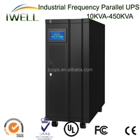 Factory made Pure Sine Wave 10Kva-450KVA Online Low Frequency Online Parallel UPS UPS and batteries with UPS installation 225Kva