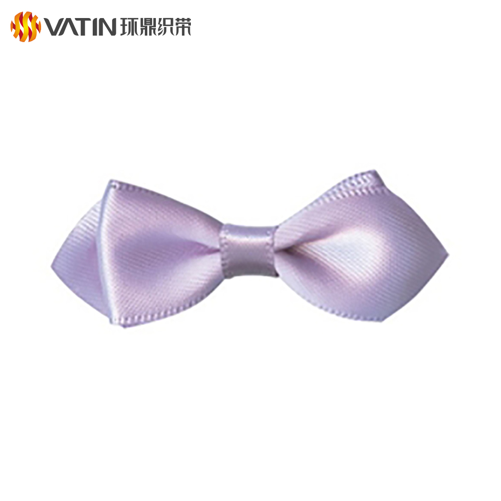 New Arrival Custom Craft Decorative Wedding Pre Made Gift Bow Knot Satin Ribbon
