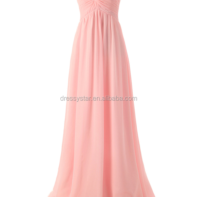Latest wholesale pink sweetheart bridesmaid dresses long for pregnant women