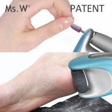 Ms.W Best Selling Products Wholesale Callus Remover Dr Scholl Foot File Hard Skin Removing Machine