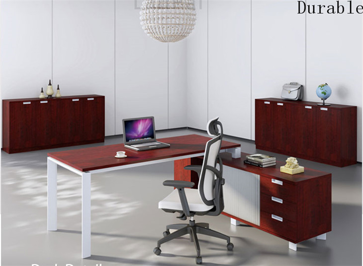 Mobilier de bureau professionnel table de gestion moderne pour le