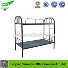 modern design home bedroom used iron furniture double size metal up down bed