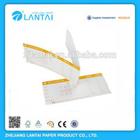 Factory price cheap airline tickets printing