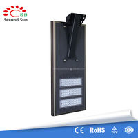 5W 8w 12w15w 20w 30w 40w 50w 60w 80w all in one integrated solar led street lights lighting price with Optical control switch