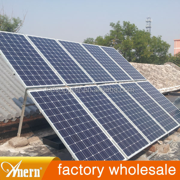 1500W high efficiency environmental Solar Power System for home use