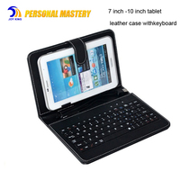 for ipad pro keyboard case Universal Tablet Leather Case with Keyboard Holder universal tablet case 10 9 8 7 inch for samsung