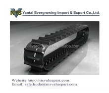 Rubber Track for YANMAR Excavator and Combination Harvester
