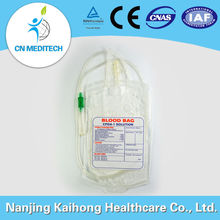 Disposable blood bag with CE & ISO