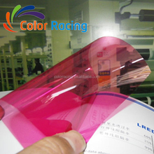 Hot selling 2mil home office glass window decoration membrane pink two ways vision tint film