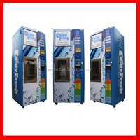 9 stages purified reverse osmosis water vending machines with coin/note/IC card/give change ( with CE Certificate)