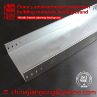 ISO Q235 GI Galvanized steel cable tray wire trunking