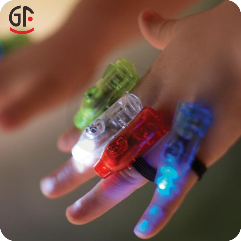 New Novelty Products LED Magic Thumb Lights Colorful Party Finger Light