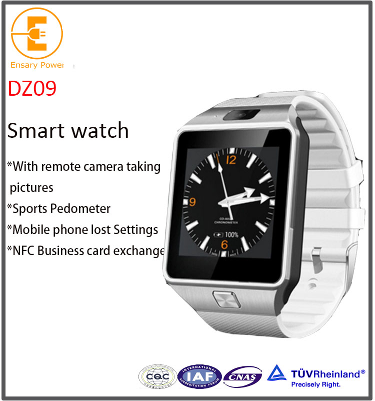 dz09 smart watch phone with touch 2016 bluetooth remote synchronization
