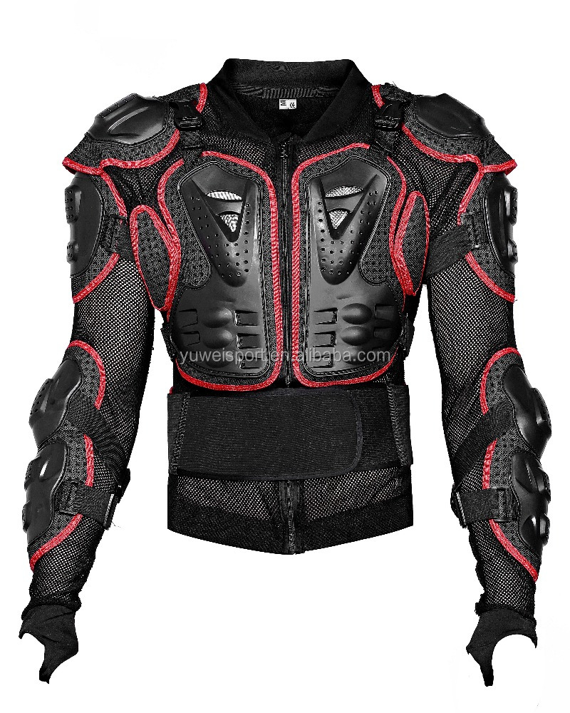 motorcycle protective clothing racing gear body armor spine protector