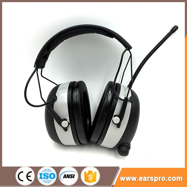 Color Logo Customized Adjustable Headband Sound Proof Earmuff,Safety Ear Muff For Child And Adult