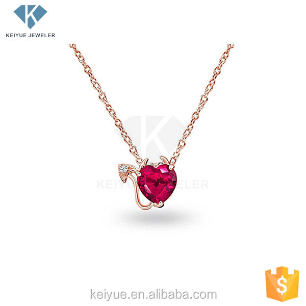 Amazing design pearlescent ruby long chain jewellery gold necklace