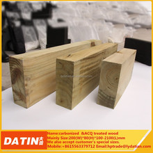 Wood preservative treatment wood pine in DATIN factory
