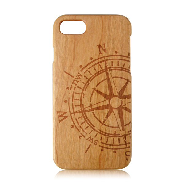 Real pure wood factory friendly personalized wooden cell phone case for iphone 7 plus, for iPhone 7 wood case bamboo