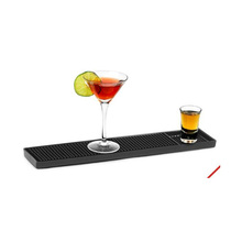 Cheap promotions custom soft PVC beer bar mat