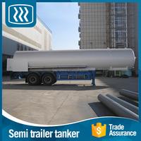 High quality heavy duty chemical liquid nitrogen tanker semi trailer