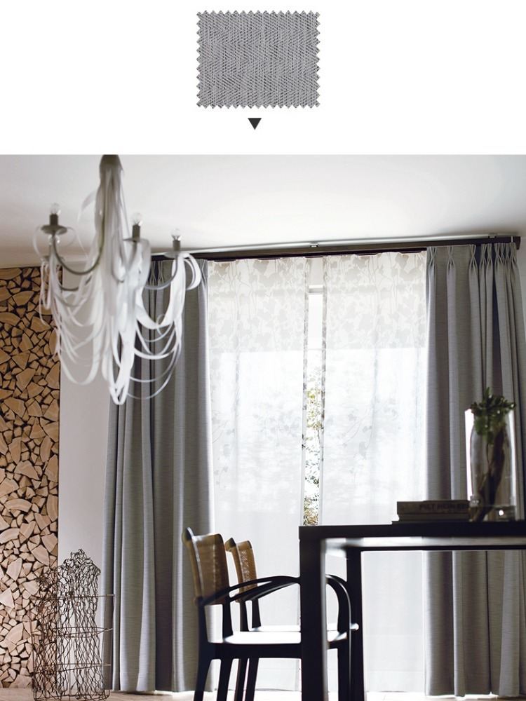 100% Polyester Window Jacquard Curtains/ Curtains Fabric
