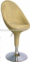 rattan fashion bar chair