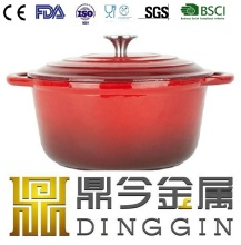 red cast iron pan wholesale