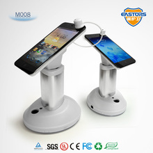 2015 Hot selling mobile phone secure display holer smart phone display holder cell phone secure display stand with alarm