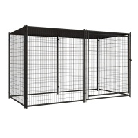 2015 wholesale electrical galvanized fence dog kennels Huilong factory directly