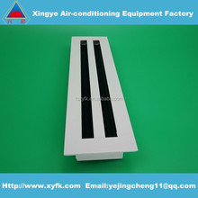 linear slot bar grille supply air grille supply air diffuser return air grille