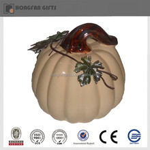 cheap home ornament ceramic pumpkin