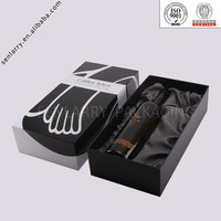 Promotional Delicate Recyclable decorative wine box cover design certificated by ISO BV SGS,ex factory price!