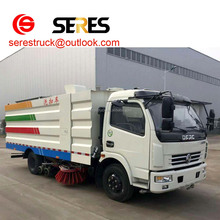 China 5CBM 5tons Road sweeper truck street sweeping truck street cleaning truck