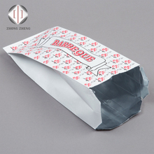 aluminum foil insulated paper bag for fried food toasted chicken hot dog packaging