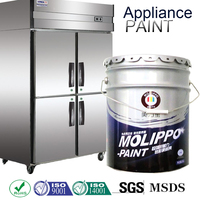 Chemical And Weather Resistant Baking Paint For Metallic Furniture