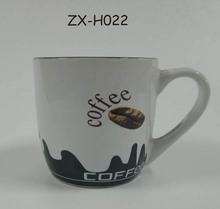Wholesale Ceramic mugs Dringking Glass cup with handle Water cup for office