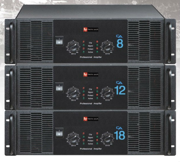 High power stage amplifier 300W-1300W CA series