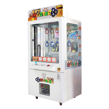 Mantong popular coin operated gift game cheap Factory coin operated claw crane arcade game/toy craw machine/key master