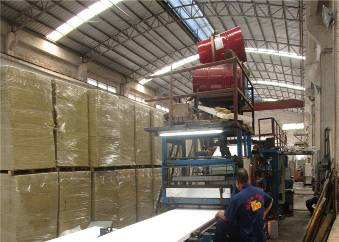 Sandwich Panel Forming