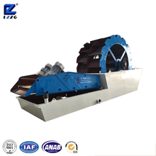high efficiency wet sand washing and dehydration machine with PU screen