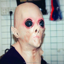 Halloween party supplies Alien latex masks Horrible head mask