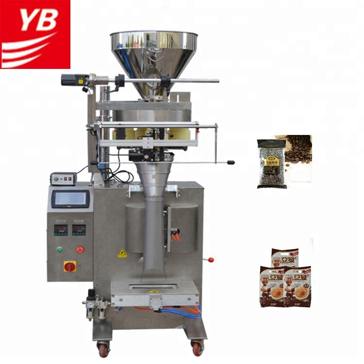 vffs packing machine Automatic 200g <strong>grains</strong> /legumes/rice vffs Granule packing machine