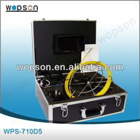 5.5mm Small Wall Inspection Camera in Pipe Inspection Camera System with DVR and Monitor WPS-710D5