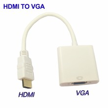 HDMI to VGA Adapter Converter Male to Female Video Cable
