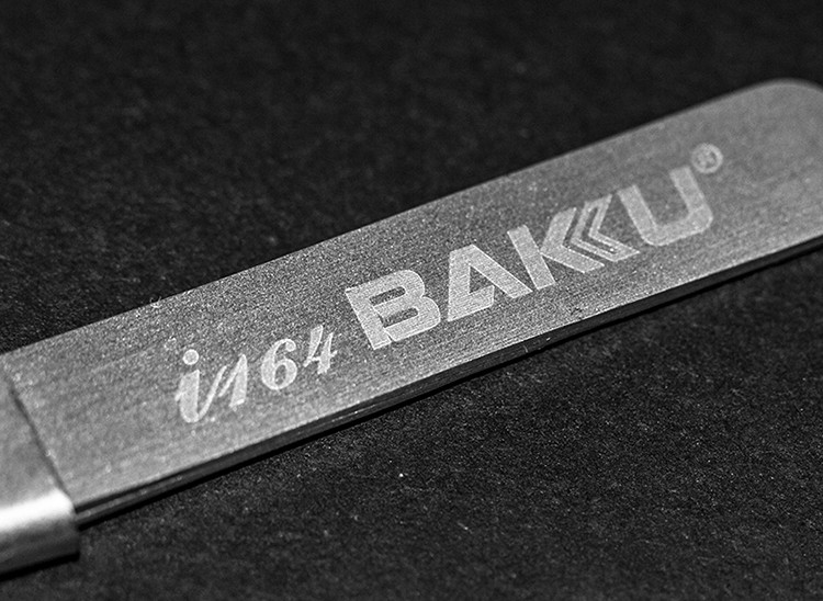 BAKU BK-i164 High-precision Volume Tweezers With Stainless Steel For Extension and Blackhead Removal