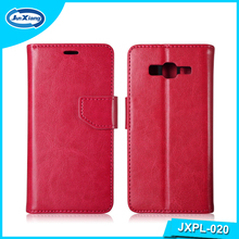 Customiz design of Leather flip cover leather case for sony m5/xperia m flip case for sony xperia miro st23i