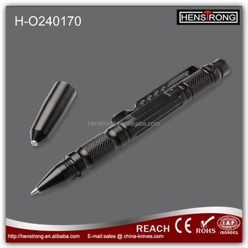 New Multi Function Tool Sefe-defense Pen With Glass Breaker With LED Flashlight