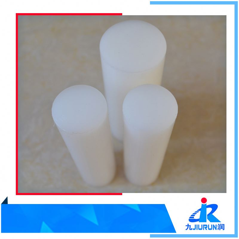 High Density Engineering Natural White Polyethylene Plastic 1000 Rod