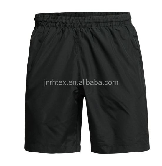 2016 hot selling custom polyester/cotton plain mens sweat shorts